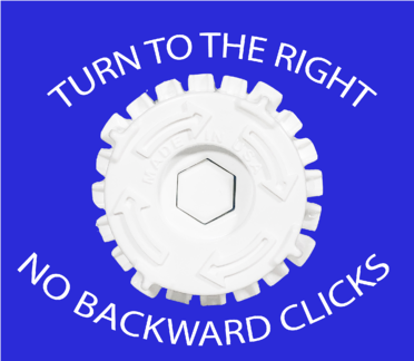 Ticker Topical Applicator doesn't allow for backward clicks
